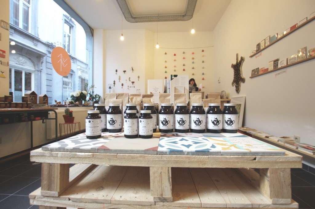 L'honesterie _ boutique pop up à Liège pour mieux vivre et mieux consommer (décoration, produits beauté, livres...)