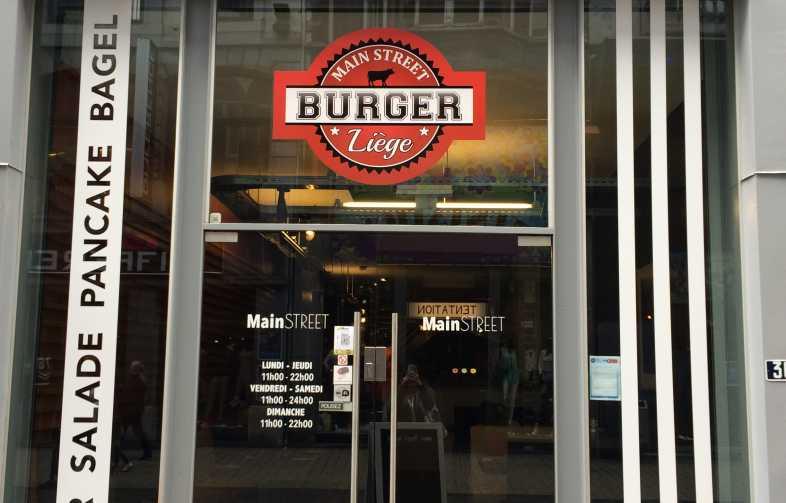 restaurant,burger,midi,petite pause,goûter,pont d'Avroy,burgers,