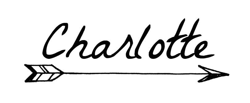 flèche, signature, Charlotte, from liège with love