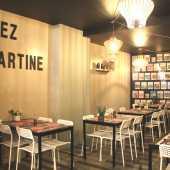 Liège, Pâtes, Salade, Petit Déjeuner, Sandwich, Chez Martine, Café