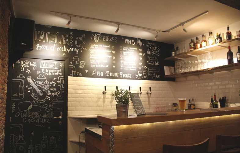 Bar d'artisans, Liège, bière, Curtius